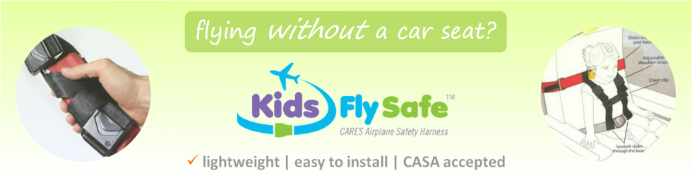 CARES child aviation harness