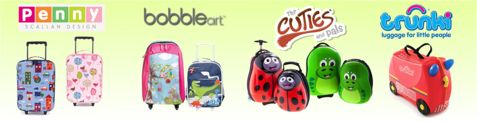 Strong, stylish and smartly designed Luggage range for children