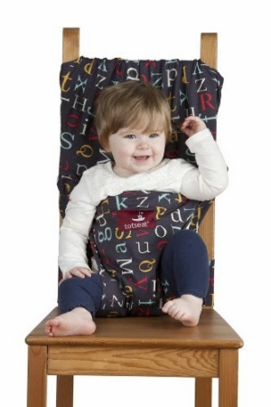 Totseat Portable Highchair - Alphabet